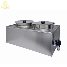 China Professional portable chocolate cold bain marie counter restaurant cooking equipment