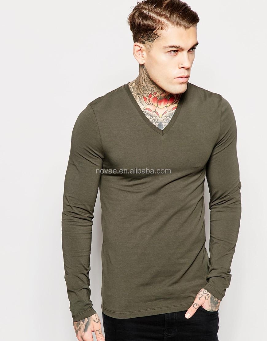 Make Custom Oem Cotton Fabric For T Shirt Specification Men Long