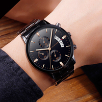 Freeshipping Fashion Butterfly Leather Band Clock Analog Quartz Watch Wrist Watch Men Masculino wrist