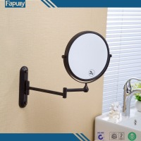 Fapully high quality Black metal framed decorative wall mirror