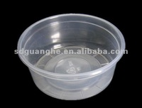 printed disposable tub deli food container with lids plastic