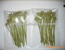 Bamboo skewer bamboo pick with flower knot sticks