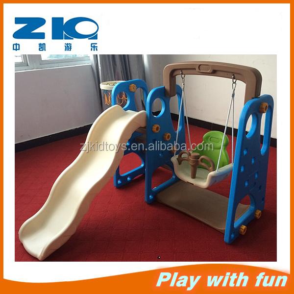 b b toboggan en plastique avec balan oire d 39 int rieur play set enfants toboggan en plastique. Black Bedroom Furniture Sets. Home Design Ideas
