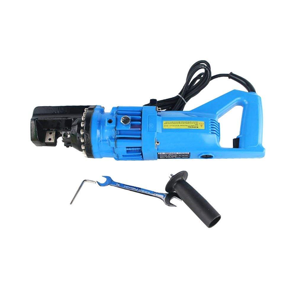 110V Hydraulic Rebar Cutter Electrical Steel Bar Rope Cutting Machine for Cutting Steel Bar Range 4mm-16mm