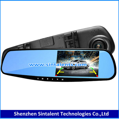4.3 Inch TFT LCD Digital Reversing TFT Car Quad Rearview AHD DVR Monitor for Heavy Truck