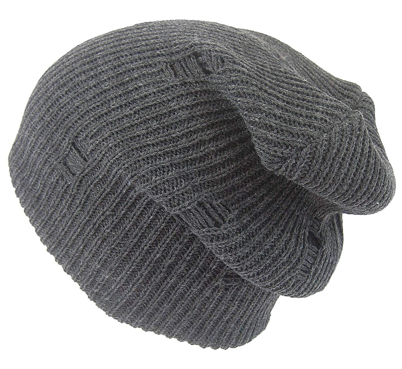 Unisex Women Men Oversized Slouchy Baggy Beanie Ski Skull Hats