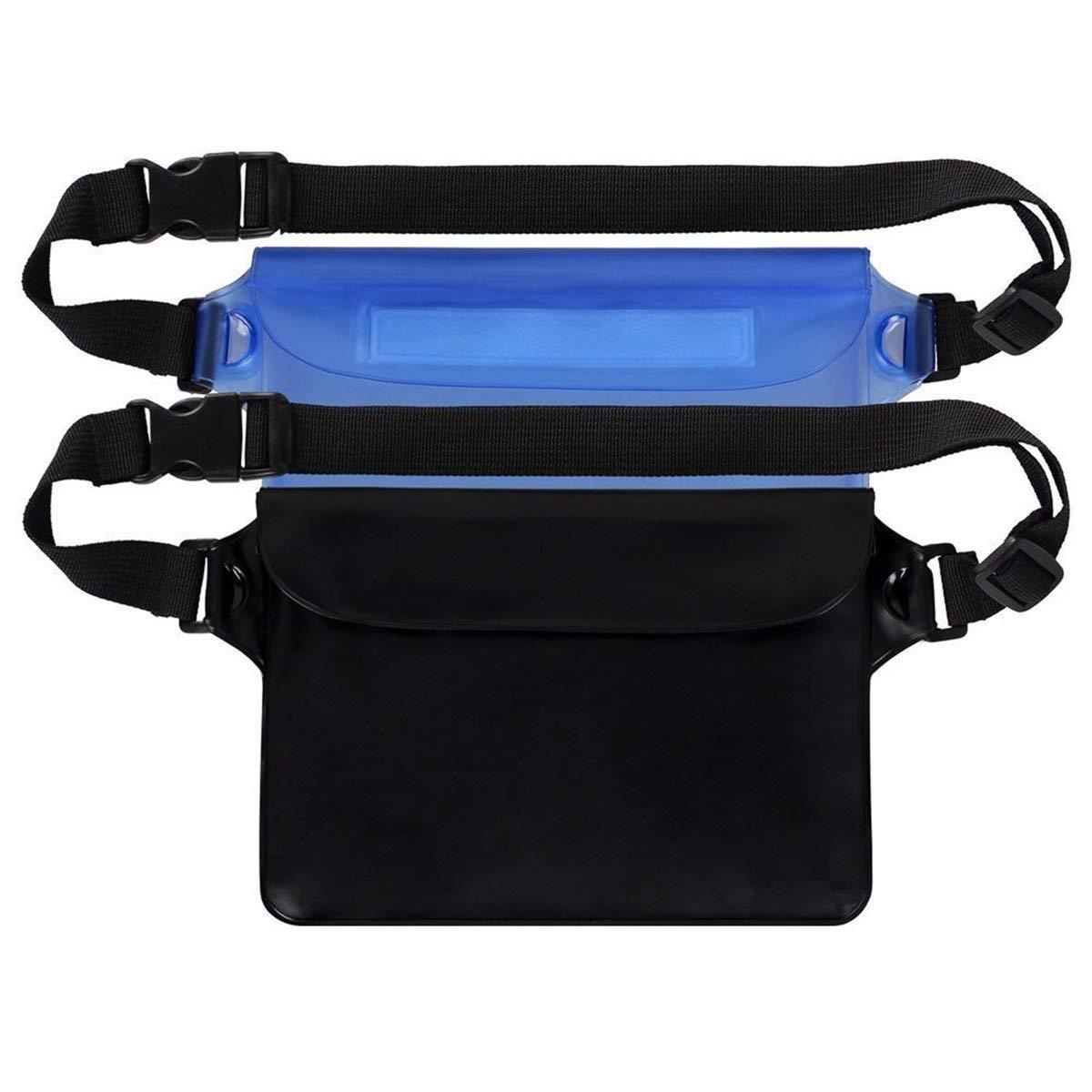 Get Quotations Winomo 2pcs Waterproof Pouch Bag Sport Running Waist Belt For Phone Camera Wallet Beach Fishing