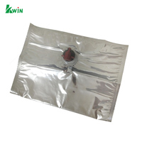 Customized Plastic Tap Spout Filling 1L 3L 5L 220L Aseptic Bag In Box Valve Red Wine