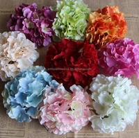 16cm Single Hydrangea Flower Head Artificial For Centerpieces And Decor