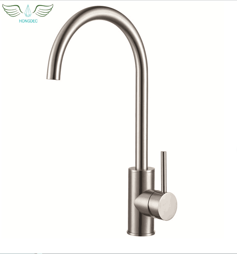 Wholesale 304 Stainless Steel Kitchen Faucet