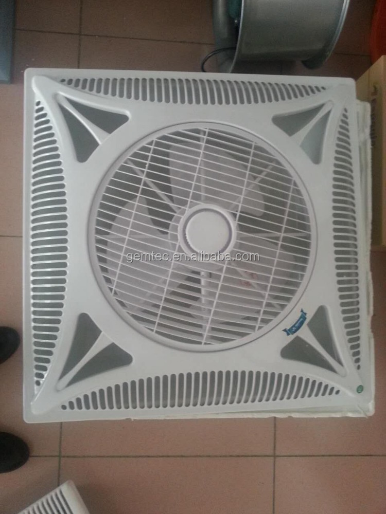 14 Inch Ceiling Box Fan With Remote Control On Alibaba Com