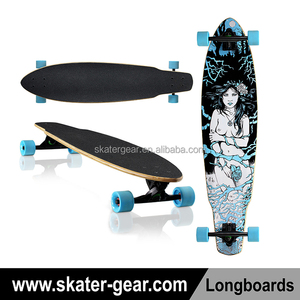 SKATERGEAR 39*9.2 inch blank for cruising/pintail longboard original