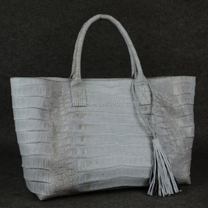 Soft crocodile bags Himalaya crocodile large tote bag alligator bag