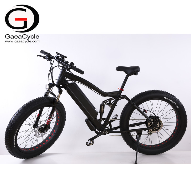 Gaeacycle Neumático 500 Vatios Eléctrico Bicicletas Playa Crucero ...