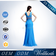 Factory Directly Sell Heavy Beads Latest Net Dress Designs 2012