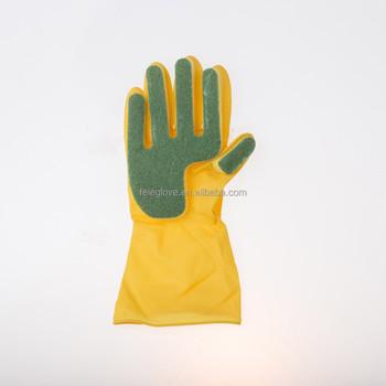 Cinco Dedo Esponja Esfregão De Limpeza Luvas De Látex Domésticosluva De Borracha Buy Cinco Dedo Esponja Luva De Limpezaesponja Esfregão De Limpeza