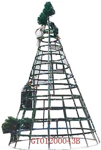 2015 Giant Tree Outdoor Metal Frame Christmas Tree - Buy Giant ...