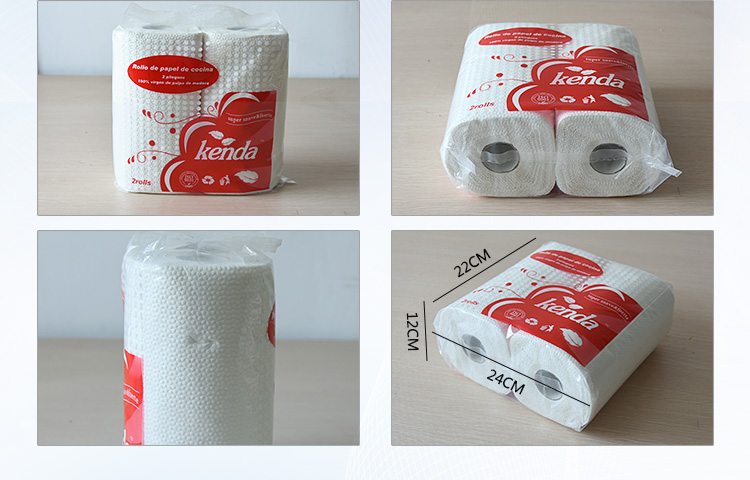 2Ply Hot-sale Top Quality Embossing Kitchen Paper Towel