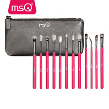 MSQ 12pcs new fashion woman makeup cosmetic brush set eye brush set