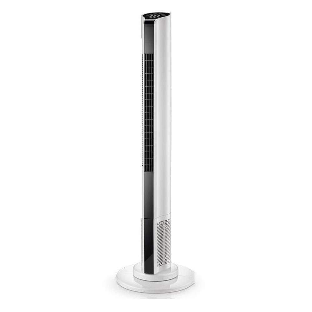 Electric Fan, Tower Fan, Home Silent Floor Fan, Remote Control Fan, Shaking Head Tower, Vertical Without Leaf,White
