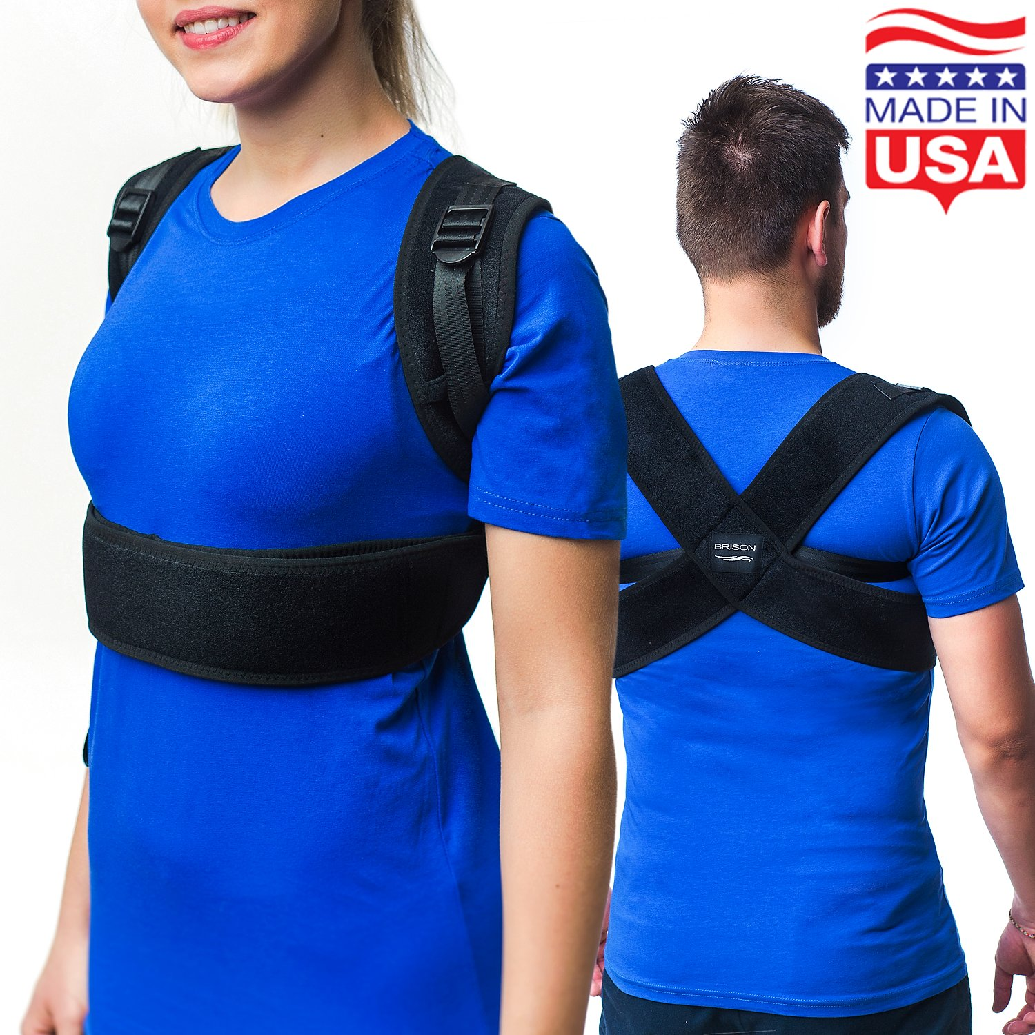 Cheap Perfect Posture Brace Find Deals On Support Get Quotations Corrector For Women And Men Made In Usa Adjustable Kyphosis