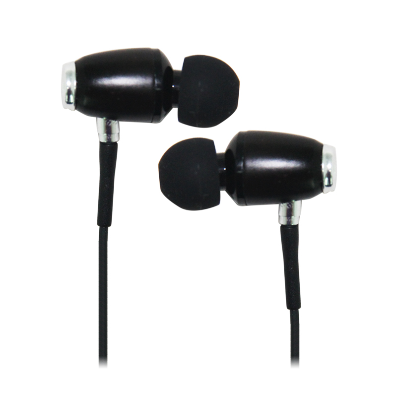 2014 hot selling 3.5mm stereo wood earphones
