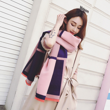 SF17229064 Female Classic Winter Blanket Plaid Scarf scottish Cashmere scarf Shawls india Tippet