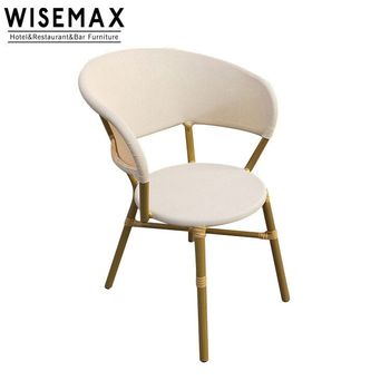 Strange French Style Aluminum Bistro Cafe Furniture Stackable Rattan High Back Dining Outdoor Table And Chairs View Bamboo Bistro Chair Wisemax Furniture Download Free Architecture Designs Intelgarnamadebymaigaardcom