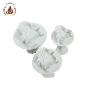 Pengguin Sugarcraft Embossing Plunger Cutter With Cake Decorating Suppliers, Cake Decorating Factory