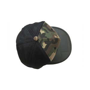 Running sport outdoor solar charger promotional custom cap hat