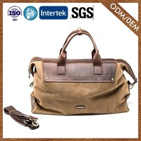 Wholesale Newest Custom Color 100% Leather Fashion Travel Duffle Bag