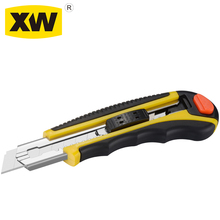 Auto-loaded 6 blades ABS snap-off blade knife cutter
