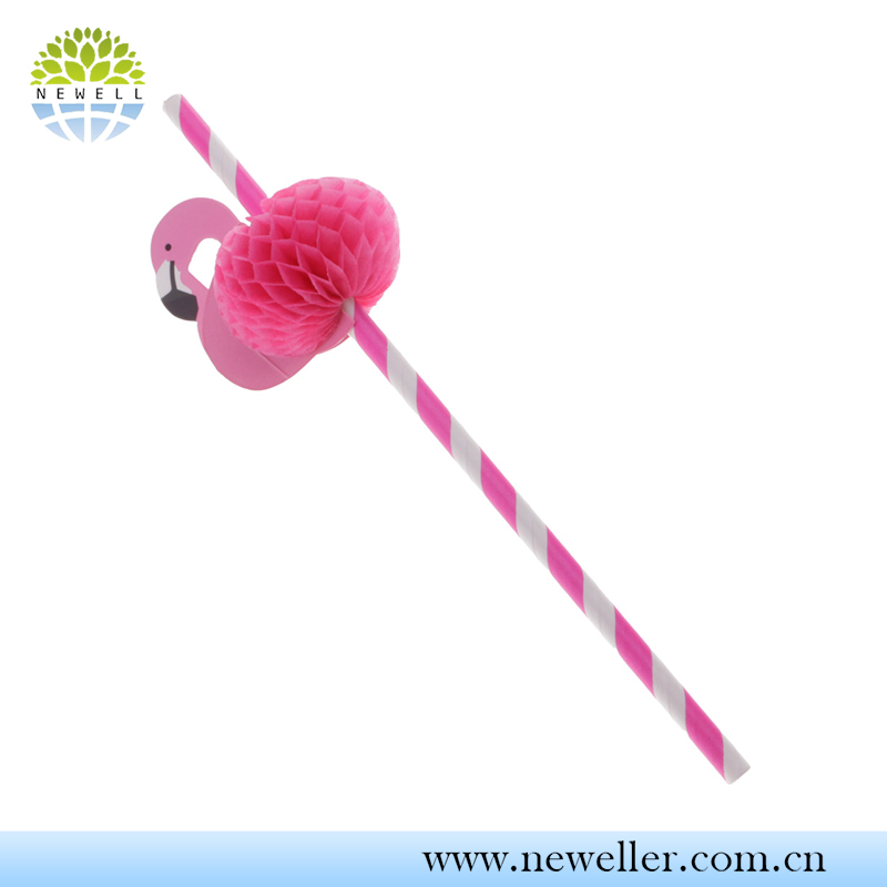 Professional manufacture decorative children straw for bar