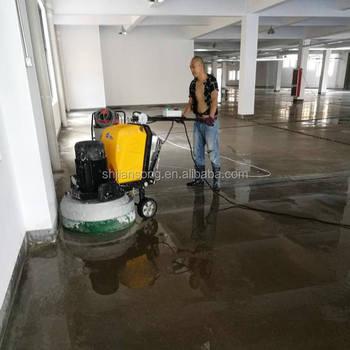 JS concrete floor grinding machine , control floor grinder machine