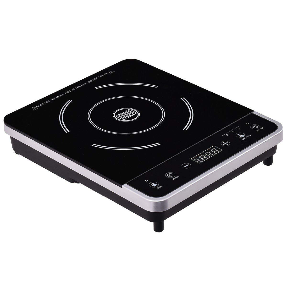 Electric Portable Induction Cooker Single Burner Digital Hot Plate Cooktop Countertop Stove Energy Effeciency Top Hot Plate Digital Cook