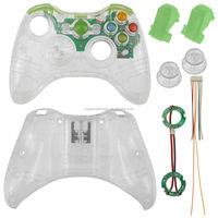 Green Xcm Led Light Custom Shell Housing Replacement For Xbox 360 ...