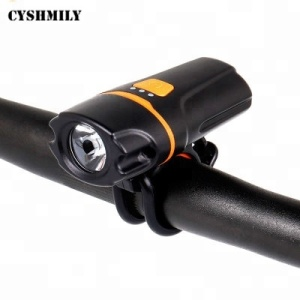 CYSHMILY Super Bright Led Bicycle Accessories Front Light Waterproof Riding Usb Rechargeable Bike Light