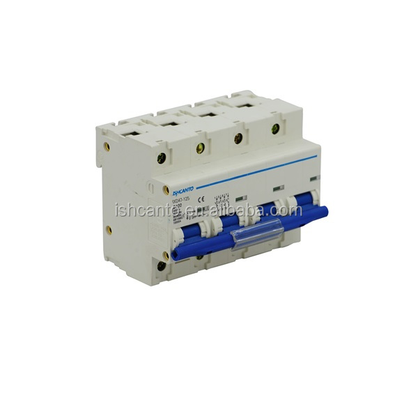 63 amp mcb micro circuit breaker with remote controllable switch