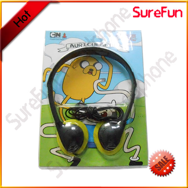 the case can be just plastic bags disposable foldable headphone black MOQ 500pcs
