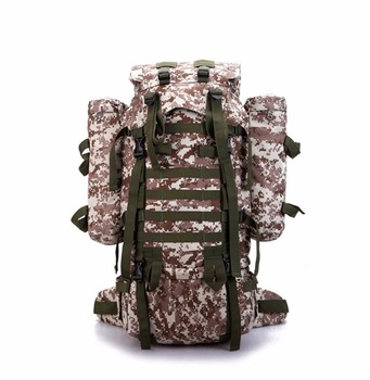 6b68f1bf51 Sports Outdoor 80l Camo Military Travel Bag Backpack With Rain Cover ...