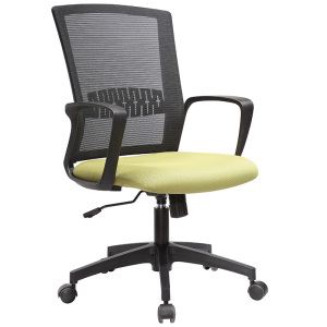 Economic wholesale mesh staff computer desk chair with castors for promotion