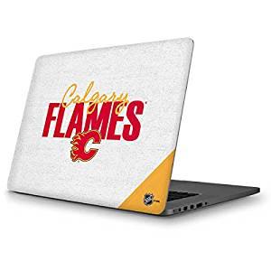 NHL Calgary Flames MacBook Pro 13 (2013-15 Retina Display) Skin - Calgary Flames Script Vinyl Decal Skin For Your MacBook Pro 13 (2013-15 Retina Display)