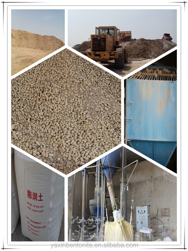 factory direct drilling bentonite clay mud factory