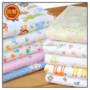 100% cotton jersey fabric interlock knitted fabric