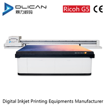 glass uv led flatbed printer in Shenzhen China