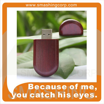Bamboo/wood usb flash drive,engrave or imprint logo is optional