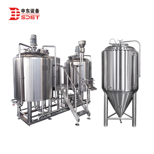 SDET brewing brewery equipment 0% alcohol beer making