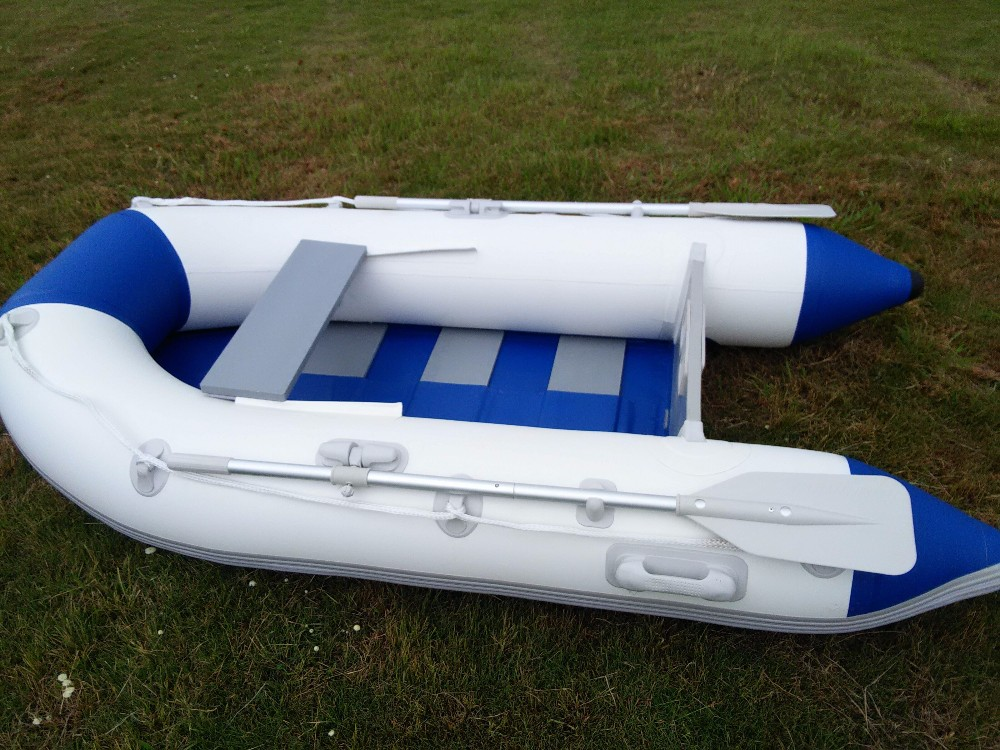 Cheap 2 person inflatable fishing boat buy inflatable for Two man fishing boat