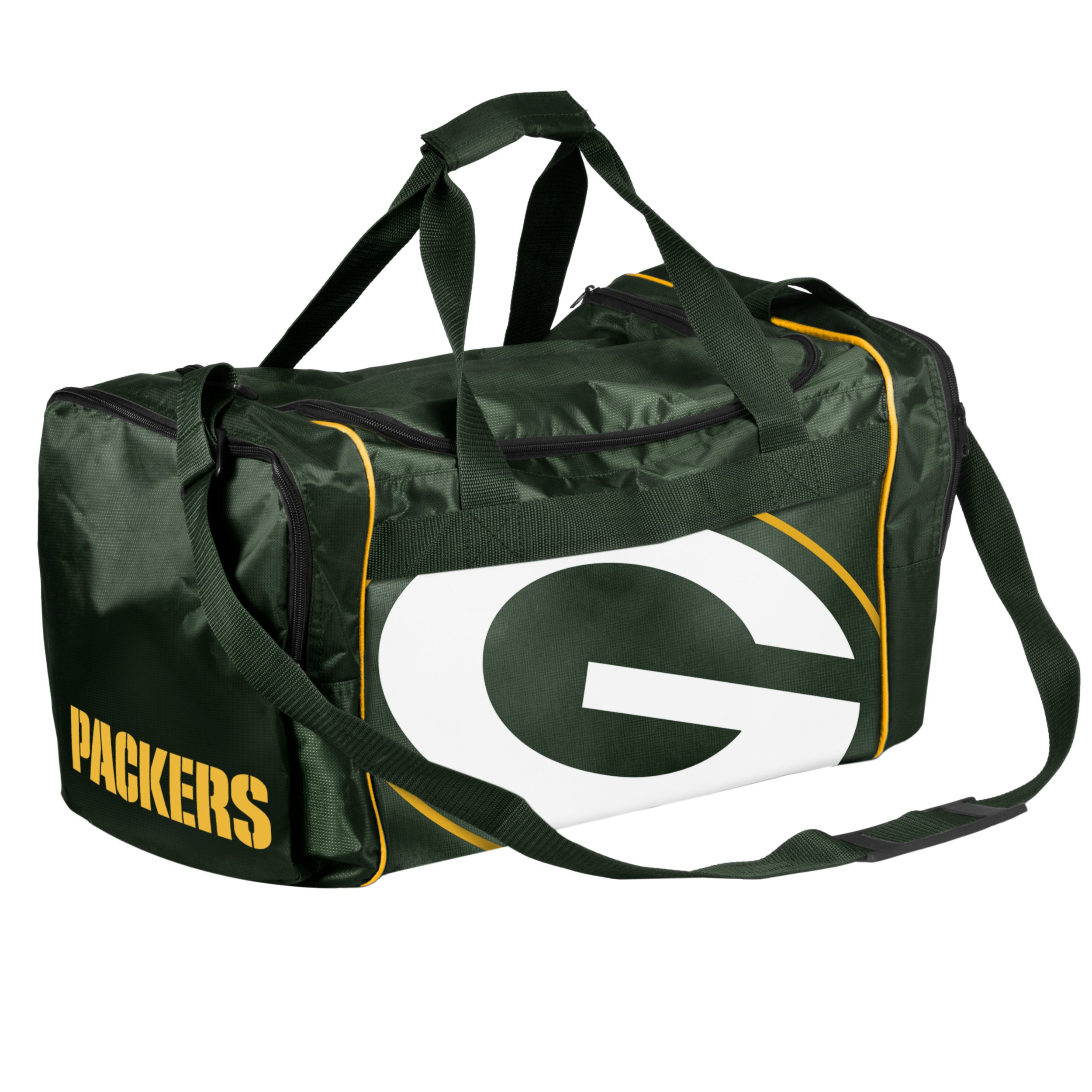 Get Quotations · Forever Collectibles NFL Green Bay Packers Core Duffle Bag a056ba0ebb3