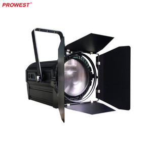 100W Professional Led continuous Fresnel video film spot light for video and film taking instage and theatre